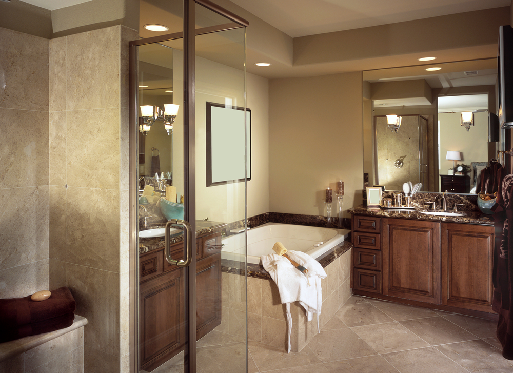 Deville construction tims ford lake builders for Bathroom renovation tampa